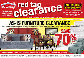 Scratch And Dent Bedroom Furniture Red Tag Clearance Event Rc Willey Furniture Store