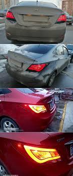 2013 Hyundai Accent Brake Light Us 242 55 51 Off Rear Fog Lamp Brake Light Reverse Turn Signal Light Car Led Tail Light Taillight For Hyundai Solaris Accent 2012 2013 2014 In
