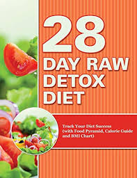 28 Day Raw Detox Diet Track Your Diet Success With Food