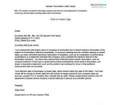 termination letter template sample termination letters lovetoknow