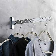cute wooden wall mounted clothes hanger
