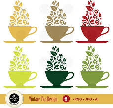 vintage tea cups vector. Beautiful Tea Image 0 For Vintage Tea Cups Vector L