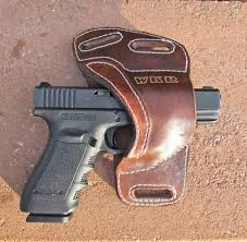 custom made personalized leather holster