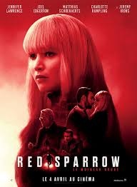 Red Sparrow | Red sparrow movie, Streaming movies free, Free movies online