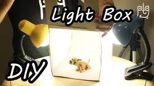 diy light box how to make white box for close up photos build lightbox you