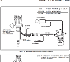 mallory distributor wiring schematic solidfonts wiring and distributors diagram images mallory 9000