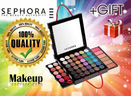 sephora makeup make up palette eyeshadow eye shadow set um 100 original