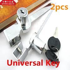 full image for anderson sliding glass door keyed lock 2pcs universal key type sliding glass cabinet