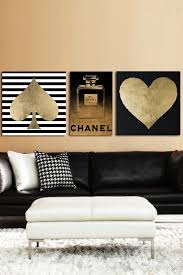 Black Gold And White Bedroom Ideas Wallpaper Backgrounds Wall ...