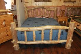 interesting r rustic bed frames reclaimed wood twin bed