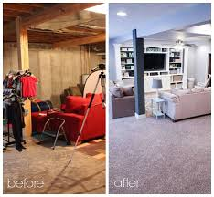 finished basement ideas before and after.  After Finished Basement Ideas  Before U0026 After And Pinterest