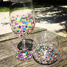 tuesday september 20th public wine glass painting party at arni s in greenwood 6 30 pm