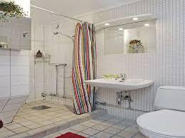 Apartment bathroom ideas shower curtain Grey Katuininfo Best Shower Curtains For Small Bathrooms