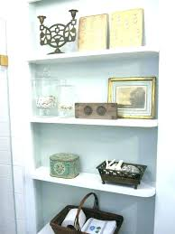 shelf ideas bathroom shelf ideas bathroom shelf ideas recessed bathroom shelves best bathroom recessed shelves