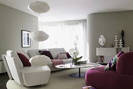 ... Modern Living Room With Grey Color Impressive Purple And Bedroom Image  Inspirations Home Decor Bathroom Ideas ...