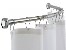 photo 1 of 8 lowes shower curtain rods curtains ideas curved tension lowe s loews 1 lowes shower curtain