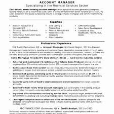 Account Executive Resume Template Updated Senior Account Manager ...
