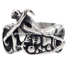 china 316 snless steel jewelry biker rings for men direct whole