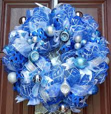 Top Blue And White Blue And Silver Christmas Decorations