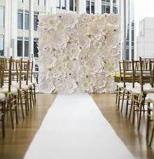 Paper Flower Backdrop Rental Paper Flower Wedding Backdrop 8ft X 10 Ft Rental We Service Ny Nj Ct Ma Pa Ebay