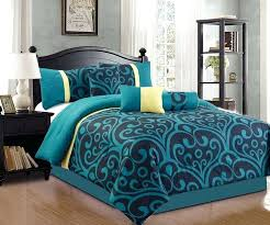 teal queen comforter sets teal color comforter sets incredible the best bedding ideas on within queen