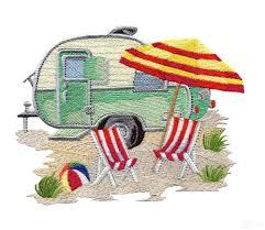 Embroidery Camper Designs Beach Design Google Search Embroidery Machine