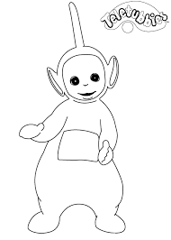 Small Picture Kids n funcom 16 coloring pages of Teletubbies