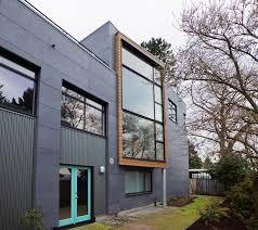 fiber cement exterior. mercer island rear industrial-exterior fiber cement exterior