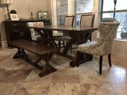 the attractive farmhouse dining table intended for home prepare intended for farmhouse dining set