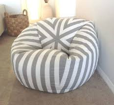 amazing make a bean bag chair diy how to an amazing easy lounger google search toss cover with stuffed animal seat frog ottoman cushion