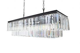 harlow chandelier look alike restoration hardware monastery table brotherhood odeon ballard designs light fixtures rectangular crystal drop chandelier
