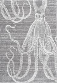 thomas paul power loomed octopus rug save