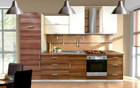 modern cabinet furniture. Modern Walnut Kitchen Cabinets With Brown And White Combined Color Cabinet Furniture U