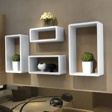 Shelves Wall Decor Mounted Box Wood Decorative Shelving With Wall Boxes  Decorations