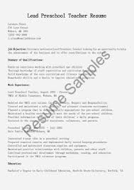 Preschool Teacher Cover Letter New Preschool Assistant Teacher Ideas