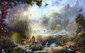 Paradise Heaven Painting (Page 1) - Line.17QQ.com