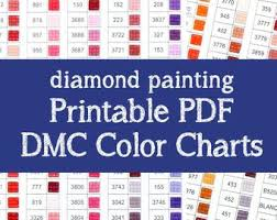 Diamond Painting 911 Dmc Color Chart Valid Dmc Diamond