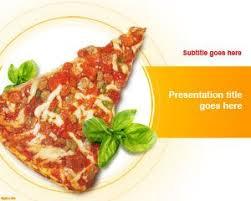 Powerpoint Templates Food Pizza Ppt Template Rome Fontanacountryinn Com
