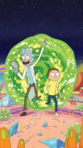 Rick and Morty Aesthetic Wallpapers ...