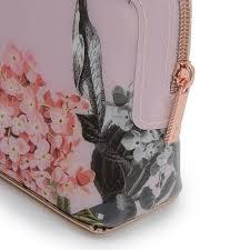 ted baker genlee palace gardens makeup bag 143449 in pink excel