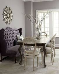 delightful against the wall dining table dining chair banquette bench  settee table modern mixed seating design.