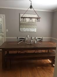 edison bulb lighting. DIY Edison Bulb Light Fixture Over A Rustic Dining Room Table Lighting