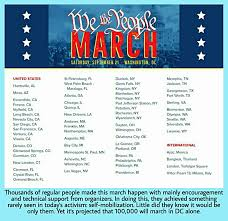 Self Made Designs Quincy Ma We The People March Is Sept 21 Big Nonprofits Mia