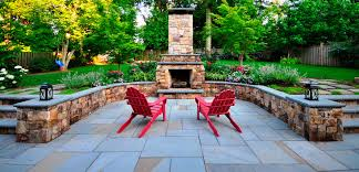 flagstone patio installation in dry base