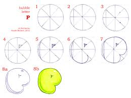bubble letter p how to draw bubble letters page 2