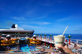 pina colada and pool deck aboard the norwegian star cruise ship to introduce our