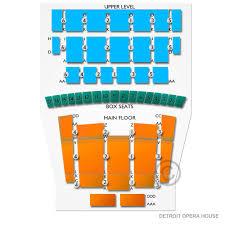 Detroit Opera House 2019 Seating Chart