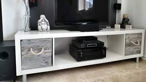 DIY IKEA hack into a media console (via lifehacker)