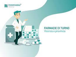 Federfarma Vicenza - Una farmacia aperta la trovi sempre e ovunque! Sette  giorni su sette, festivi compresi, h24 Le farmacie vicentine sono sempre al  vostro servizio. Cerca la farmacia di turno più