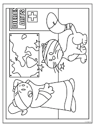 Kleurplaten Dierenarts Brekelmansadviesgroep
